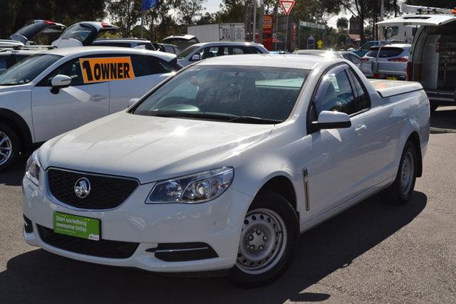 Used Holden Ute VF II MY16 Ute, 2016 Holden Ute VF II MY16 Ute White 6 Speed Sports Automatic Utility