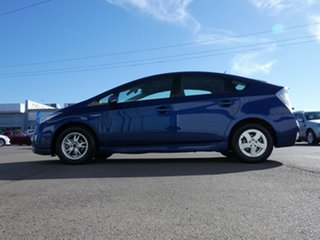 2009 Toyota Prius ZVW30R Blue 1 Speed Constant Variable Liftback Hybrid
