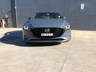 2020 Mazda 3 BP2HL6 G25 SKYACTIV-MT Astina Polymetal Grey 6 Speed Manual Hatchback.