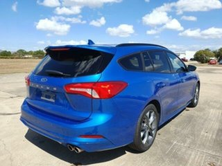 2018 Ford Focus SA 2019MY ST-Line Desert Island Blue 8 Speed Automatic Wagon.