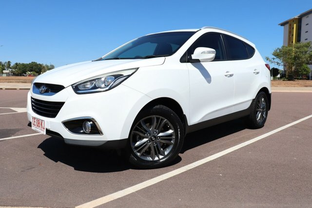 Used Hyundai ix35 LM3 MY15 SE, 2015 Hyundai ix35 LM3 MY15 SE White 6 Speed Manual Wagon