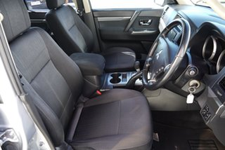 2012 Mitsubishi Pajero NW MY13 GLX-R Silver 5 Speed Sports Automatic Wagon.