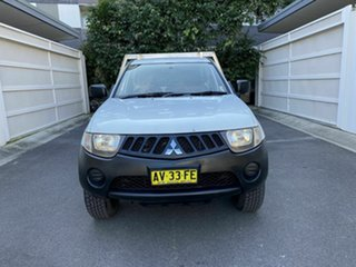 2007 Mitsubishi Triton ML MY08 GL 4x2 White 5 Speed Manual Cab Chassis
