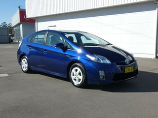 2009 Toyota Prius ZVW30R Blue 1 Speed Constant Variable Liftback Hybrid.