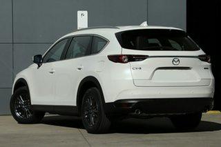 2021 Mazda CX-8 KG2WLA Touring SKYACTIV-Drive FWD Snowflake White Pearl 6 Speed Sports Automatic.