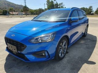 2018 Ford Focus SA 2019MY ST-Line Desert Island Blue 8 Speed Automatic Wagon
