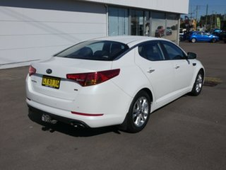 2012 Kia Optima TF MY13 SI White 6 Speed Sports Automatic Sedan