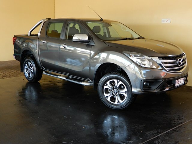 Used Mazda BT-50 MY17 Update GT (4x4), 2018 Mazda BT-50 MY17 Update GT (4x4) Bronze 6 Speed Automatic Dual Cab Utility