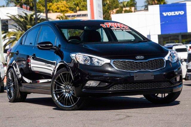 Used Kia Cerato YD MY15 S Premium, 2015 Kia Cerato YD MY15 S Premium Black 6 Speed Sports Automatic Sedan