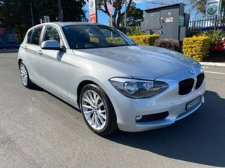 2012 BMW 118i F20 118i Silver 8 Speed Sports Automatic Hatchback.