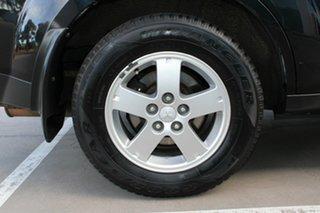 2008 Mitsubishi Outlander ZG MY08 LS Black 6 Speed CVT Auto Sequential Wagon