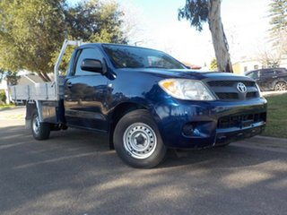 2008 Toyota Hilux TGN16R MY09 Workmate 4x2 5 Speed Manual Cab Chassis.