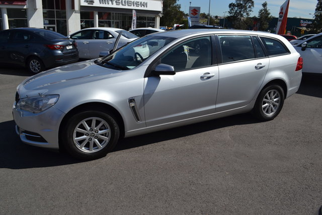 Used Holden Commodore VF II MY16 Evoke Sportwagon, 2015 Holden Commodore VF II MY16 Evoke Sportwagon Nitrate 6 Speed Sports Automatic Wagon