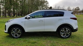 2019 Kia Sportage QL MY20 GT-Line AWD Clear White 6 Speed Sports Automatic Wagon