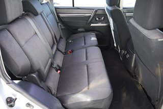 2012 Mitsubishi Pajero NW MY13 GLX-R Silver 5 Speed Sports Automatic Wagon