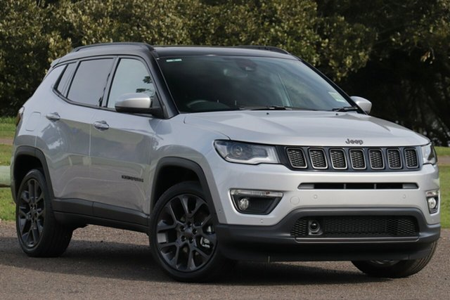New Jeep Compass M6 MY20 S-Limited Nunawading, 2020 Jeep Compass M6 MY20 S-Limited Minimal Grey 9 Speed Automatic Wagon