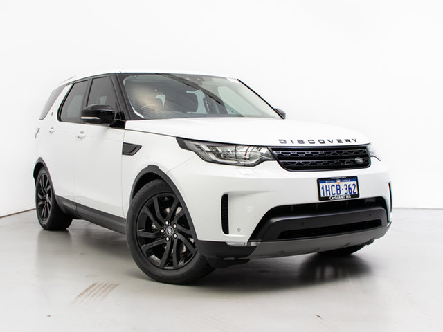 Used Land Rover Discovery MY18 TD6 HSE (190kW), 2018 Land Rover Discovery MY18 TD6 HSE (190kW) Fuji White 8 Speed Automatic Wagon