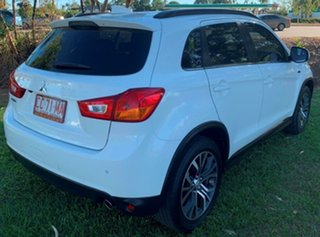 2016 Mitsubishi ASX XB MY15.5 LS 2WD White 5 Speed Manual Wagon.