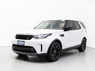 2018 Land Rover Discovery MY18 TD6 HSE (190kW) Fuji White 8 Speed Automatic Wagon.