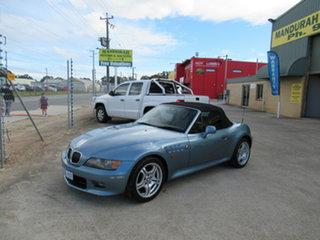 2000 BMW Z3 E36-7 Roadster Blue 5 Speed Manual Convertible.