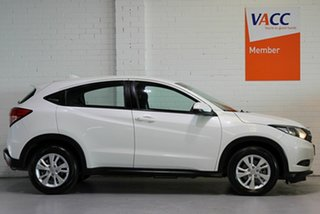 2018 Honda HR-V MY17 VTi White 1 Speed Constant Variable Hatchback.
