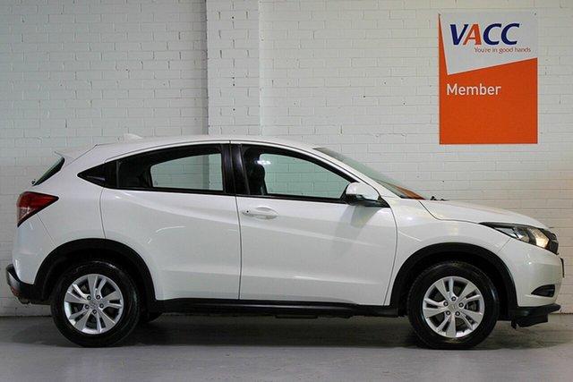 Used Honda HR-V MY17 VTi, 2018 Honda HR-V MY17 VTi White 1 Speed Constant Variable Hatchback