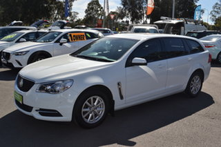 2017 Holden Commodore VF II MY17 Evoke Sportwagon White 6 Speed Sports Automatic Wagon