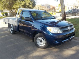 2008 Toyota Hilux TGN16R MY09 Workmate 4x2 5 Speed Manual Cab Chassis