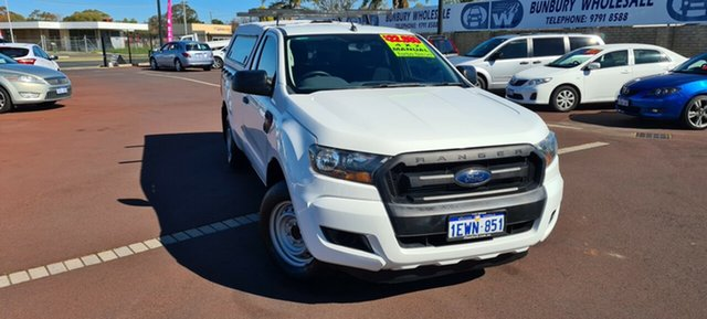 Used Ford Ranger PX XL East Bunbury, 2015 Ford Ranger PX XL White 6 Speed Manual Utility