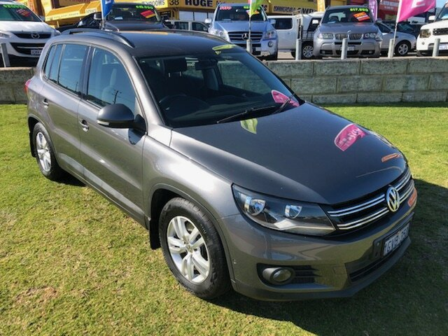 Used Volkswagen Tiguan 5N MY12.5 132TSI 4MOTION Pacific Wangara, 2012 Volkswagen Tiguan 5N MY12.5 132TSI 4MOTION Pacific Grey 6 Speed Manual Wagon