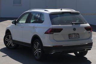 2019 Volkswagen Tiguan 5N MY20 162TSI DSG 4MOTION Highline Pure White 7 Speed.
