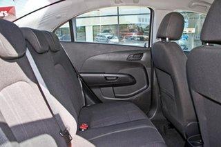 2014 Holden Barina TM MY14 CD White 5 Speed Manual Sedan