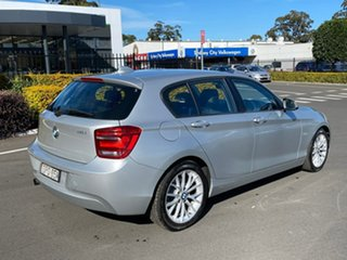 2012 BMW 118i F20 118i Silver 8 Speed Sports Automatic Hatchback