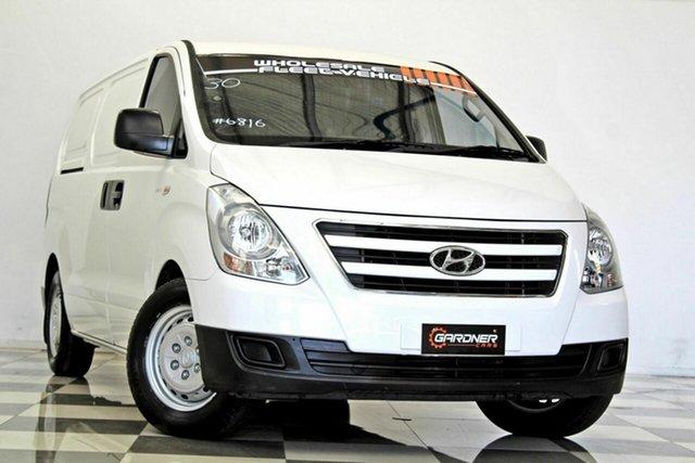 Used Hyundai iLOAD TQ Series II (TQ3) MY1 3S Twin Swing, 2016 Hyundai iLOAD TQ Series II (TQ3) MY1 3S Twin Swing White 5 Speed Automatic Van