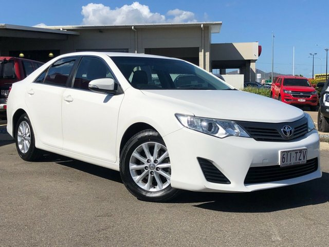 Used Toyota Camry ASV50R Altise Garbutt, 2012 Toyota Camry ASV50R Altise White 6 Speed Sports Automatic Sedan