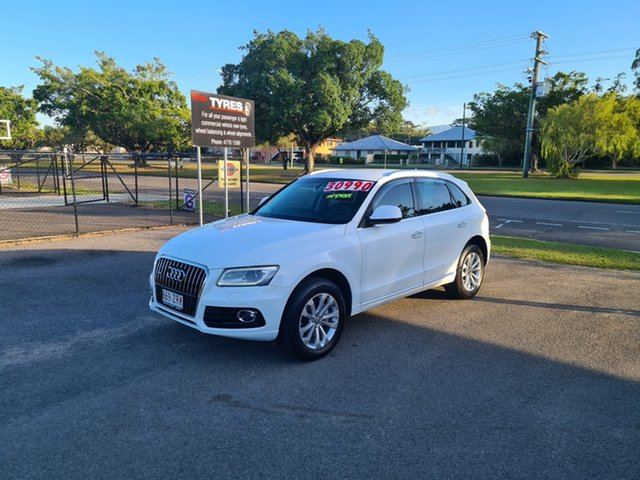 Used Audi Q5 8R Ingham, 2015 Audi Q5 8R - White 7 Speed Automatic Wagon
