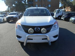 2013 Mazda BT-50 MY13 XT Hi-Rider (4x2) White 6 Speed Manual Cab Chassis