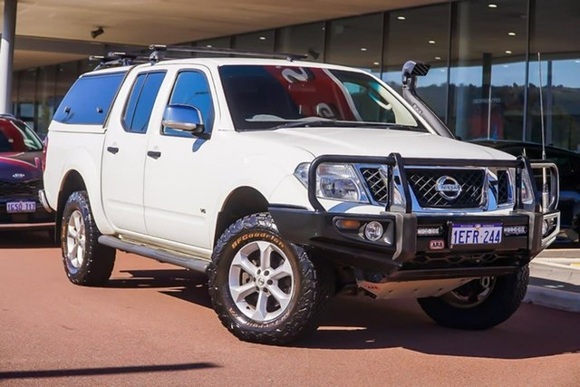 Used Nissan Navara D40 S5 MY12 ST-X, 2012 Nissan Navara D40 S5 MY12 ST-X White 7 Speed Sports Automatic Utility