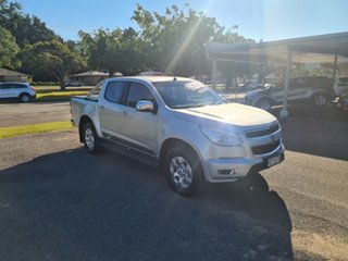 2013 Holden Colorado RG LTZ Silver 6 Speed Manual Crewcab.