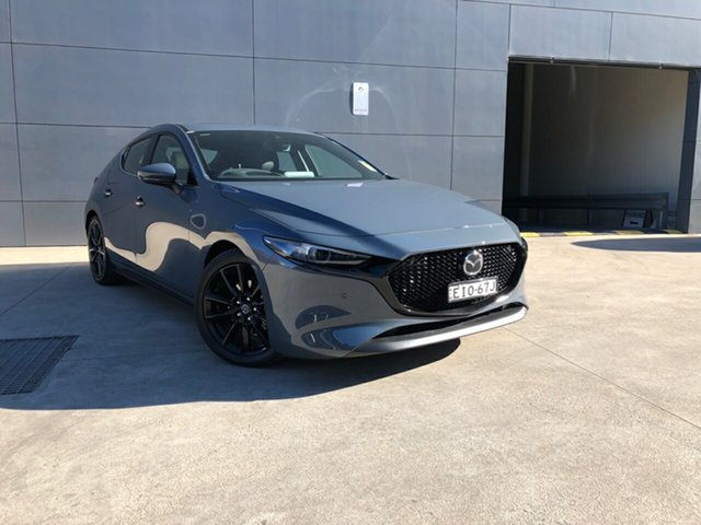 Demo Mazda 3 BP2HL6 G25 SKYACTIV-MT Astina, 2020 Mazda 3 BP2HL6 G25 SKYACTIV-MT Astina Polymetal Grey 6 Speed Manual Hatchback