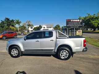 2013 Holden Colorado RG LTZ Silver 6 Speed Manual Crewcab