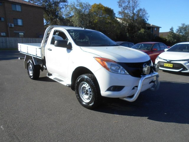 Used Mazda BT-50 MY13 XT Hi-Rider (4x2), 2013 Mazda BT-50 MY13 XT Hi-Rider (4x2) White 6 Speed Manual Cab Chassis