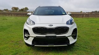 2019 Kia Sportage QL MY20 GT-Line AWD Clear White 6 Speed Sports Automatic Wagon.