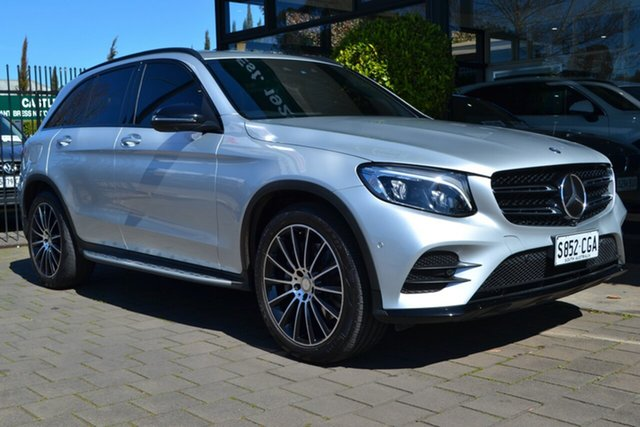 Used Mercedes-Benz GLC-Class X253 GLC250 9G-Tronic 4MATIC, 2016 Mercedes-Benz GLC-Class X253 GLC250 9G-Tronic 4MATIC Silver 9 Speed Sports Automatic Wagon