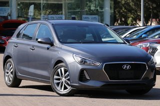 2017 Hyundai i30 PD Active Iron Grey 6 Speed Auto Sequential Hatchback.