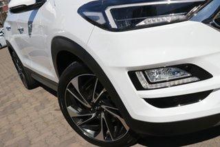 2019 Hyundai Tucson TL3 MY19 Highlander CRDi (AWD) Pure White 8 Speed Automatic Wagon.