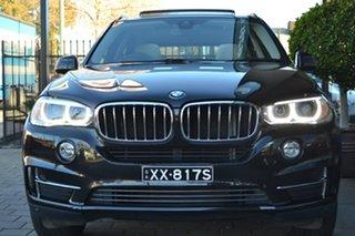 2014 BMW X5 F15 sDrive25d Black 8 Speed Automatic Wagon.