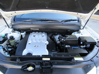 2007 Hyundai Santa Fe CM SLX White 4 Speed Automatic Wagon