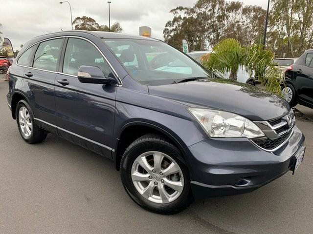 Used Honda CR-V RE MY2011 4WD Bunbury, 2012 Honda CR-V RE MY2011 4WD Grey 5 Speed Automatic Wagon