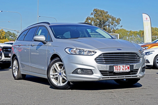 Used Ford Mondeo MD 2018.25MY Ambiente, 2017 Ford Mondeo MD 2018.25MY Ambiente Silver 6 Speed Automatic Wagon